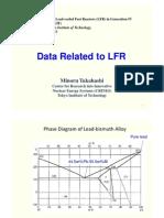 National Status on LFR Development in Japan 2 - Takahashi