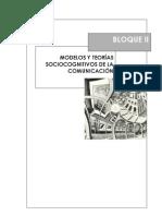 4. Modelos y teorías sociocognitivos de la comunicación