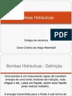 Dimensionamento de Bombas