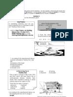 39105965 Exam Paper Peperiksaan Pertengahan Tahun English Language Form 2 PAPER 1 With Answer Tahun 2010