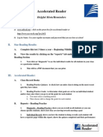 Accelerated Reader Handout