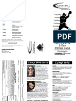 2 Day Pitcher Camp 2012