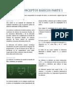 MATRICES - CONCEPTOS BASICOS PARTE 1