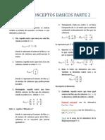 MATRICES - CONCEPTOS BASICOS PARTE 2