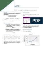 DERIVADAS - FUNCIONES Y LIMITES PARTE 1
