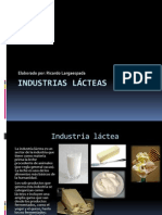 Industrias Lácteas