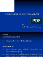 The Payment of Gratuity Act 1972 204