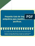 Manual para las manifestaciones pacificas