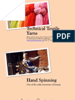 Yarn and Fabrics Manufacturing Techniques
