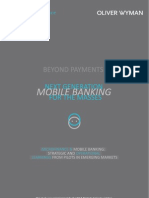 Next Generation Mobile Banking for Masses