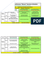 7th Annual Pain Conference Bonus Sessions Schedule