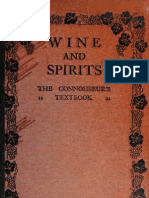 1919 - Wine and spirits - the connoisseur's textbook by Simon, André Louis