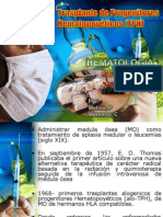 Trasplante de Progenitores Hematopoyéticos