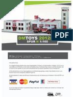 Catalogo DM TOYS 2012