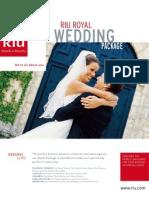 riu wedding package