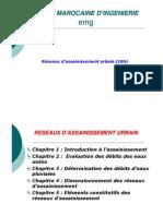 Cours-Assainissement-Chapitre 1 Et 2- EMG