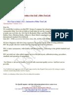 Filter Test Lab -Introduction Letter-2
