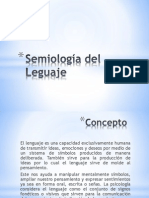 Semiologia Del Lenguaje