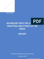 The Leveson Report in Full