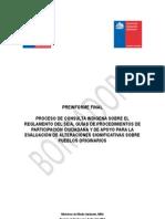 Preinforme Final Consulta Indígena SEA