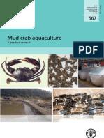Mud crab aquaculture