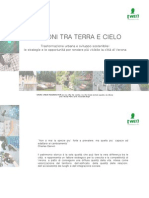 "Urban design project ""Bastioni tra terra e cielo"" city of Verona"
