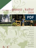 AOC Genusscreateure Katalog 09