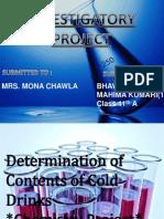 Chem Investigatory Proj