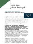 Os imbecis que destruíram Portugal