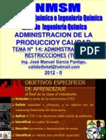 Tema 14 - Administracion de Las Restricciones 72
