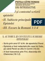Introducere Studiu Romani- Caleb Nechifor