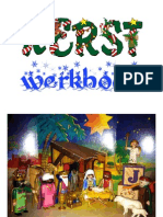 Kerstverhaal uit kinderbijbel in gratis Kerst werkboek met werkbladen en kerstliedjes