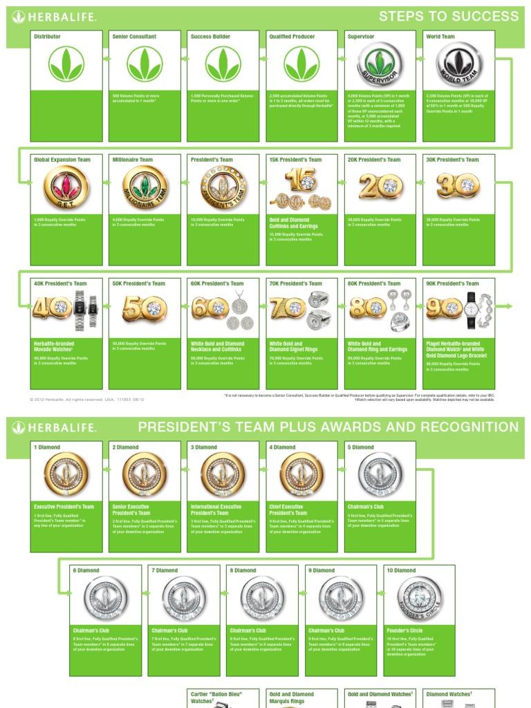 Herbalife Steps To Success: Nuevos Pines De Herbalife Desde 2013