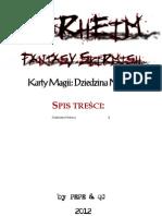 Karty Magii Dziedzina Nurgla