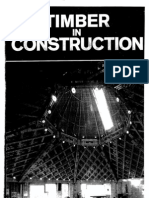 Developments of Morden Timber Structures - Timber in Construction