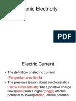 Dynamic Electricity