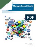 Magazine on Social Media