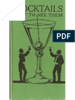 1922 - Cocktails- How to Mix Them by Robert Vermeire - Integrale