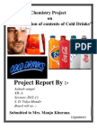 CBSE XII Chemistry Project Determination of the Contents of Cold Drinks (1) (1) (1) (3)