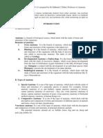 Lecture Notes VAN-111 Scd