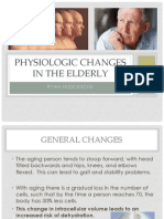 Physiologic Changes in the Elderly
