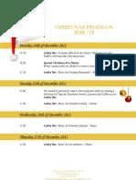 Grupotel Playa de Palma Suites & Spa | CHRISTMAS PROGRAM 2012 / 13