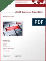 Brochure & Order Form_Czech Republic B2C E-Commerce Report 2012