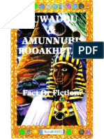 Nuwaubu & Amunnubi Rooakhptah Fact or Fiction