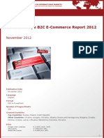 Eastern Europe B2C E-Commerce Report 2012