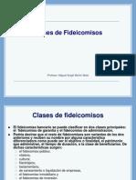 CLASE 02 Tipos de Fideicomisos