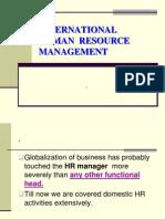 Int to IHRM, Global Recruitment,Expatriate