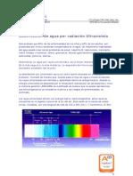 Desinfección de agua por radiación Ultravioleta