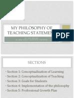 Zoe's Philosophy of Teaching Statement.pptx