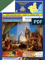 Costa Cálida Chronicle's monthly magazine December 2012